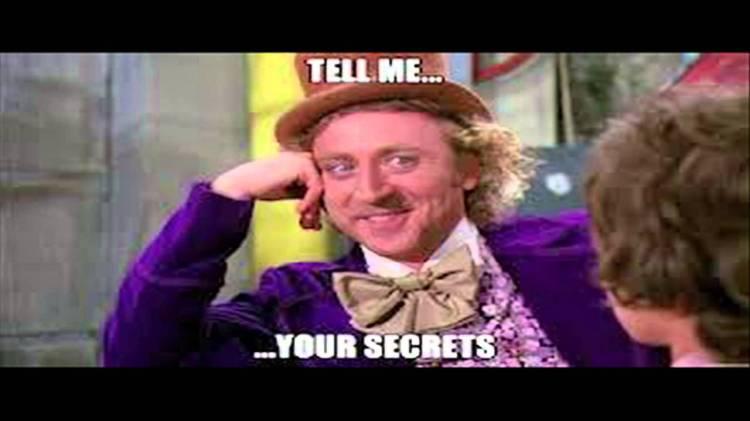 tell me your secrets - gene wilder